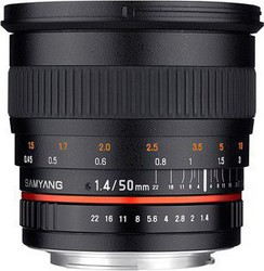 Samyang 50mm f/1.4 AS UMC Lens (Sony E-Mount)