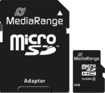 MediaRange microSDHC 4GB Class 10 with Adapter