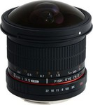 Samyang 8mm f/3.5 Asph IF MC Fisheye CSII DH (Sony E-Mount)