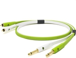Oyaide Audio Cable 2x 6.3mm male - 2x RCA male 2m (d+ RTS class B)