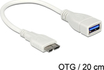 DeLock OTG micro USB-B male - USB-A female (83469)