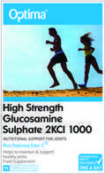 Optima Glucosamine Sulphate 1000mg 90 ταμπλέτες