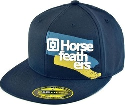 HORSEFEATHERS METHOD FITTED CAP NAVY