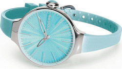 Hoops Cherie Light Blue Rubber Strap 2483L-23
