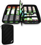 BUBM XEA Portable EVA Hard Drive Case Electronics Accessories Travel Organizer
