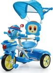Tricycle Cartoon Blue