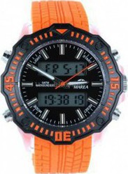 Marea Alarm Orange Rubber Strap B41122/3
