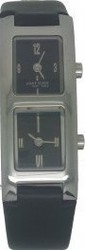 Anne Klein Black Leather Strap 12-1467BKBK
