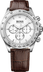 Hugo Boss Brown Leather Strap 1513175