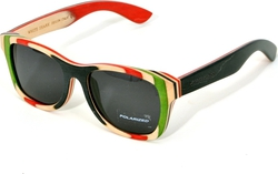 White Shark Wood Wood Wayfarer WS022 C02