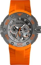 Quantum Orange Silicone Strap HNG470.060