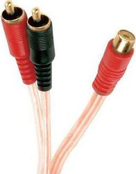 Lancom 2x RCA male - RCA female (AV208-12N-02)