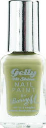 Barry M Gelly Hi Shine Nail Paint No 23 Olive