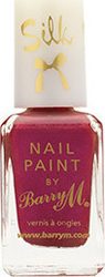 Barry M Silk Nail Paint Poppy