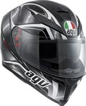 AGV K-5 Multi Hurricane Black/Gunmetal/White