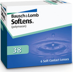 Bausch & Lomb Soflens 38 Μηνιαίοι 6pack