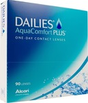 Dailies Aquacomfort Plus Ημερήσιοι 90pack