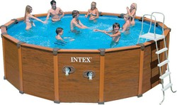Intex Wood Grain Enclosure 54968