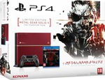 Sony Playstation 4 (PS4) Limited Edition 500GB & Metal Gear Solid V The Phantom Pain