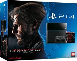 Sony Playstation 4 (PS4) 500GB & Metal Gear Solid V The Phantom Pain