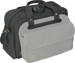 "Candide Nursery Bag ""3 in 1"" Charcoal Grey/Light Grey"
