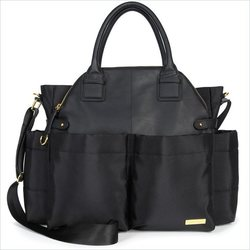 Skip Hop Chelsea Black Bag