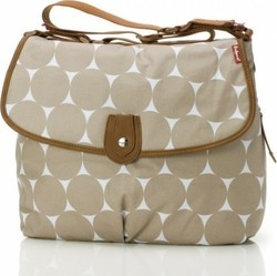 Babymel Satchel Bag - Jumbo Dot Fawn