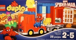 Lego Spider Truck Adventure 10608