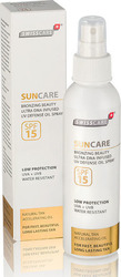 Swiss Care Bronzing Beauty Defense Oil Spray SPF15 150ml