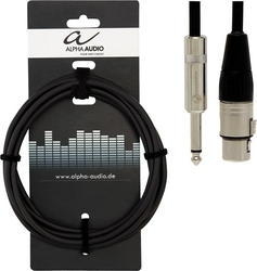 Alpha Audio Cable XLR female - 6.3mm male 6m (190.580)