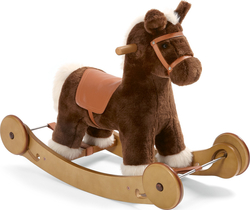 Mamas & Papas Rocking Horse - Rock & Ride Cocoa