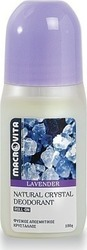 Macrovita Natural Crystal Deodorant Roll-On Lavender 100gr