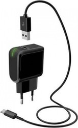 Meliconi micro USB Cable & Wall Adapter Μαύρο (406709)