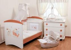 4ac80bb6c47 Βρεφικά Κρεβάτια & Κούνιες Μωρού Αστερίας Bebe - Skroutz.gr