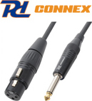 Power Dynamics Cable XLR female - 6.3mm male 3m (176.449)