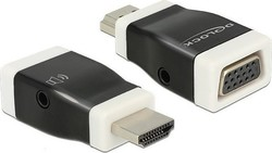 DeLock HDMI male - VGA female (65586)