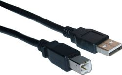 HQ USB 2.0 Cable USB-A male - USB-B male 1.8m (KPO2784A-1.8)