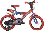 Dino Bikes Spiderman 14''