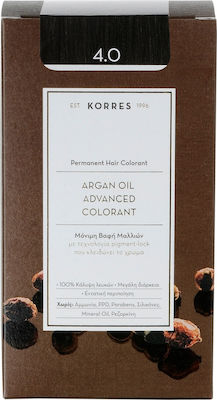 Korres Argan Oil Advanced Colorant 4.0 Καστανό Φυσικό