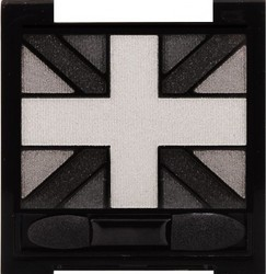 Rimmel Glam'eyes HD Quad Eyeshadow Palette 001 Black Cab