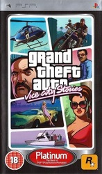 Grand Theft Auto Vice City Stories (Platinum) PSP