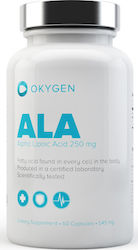 Okygen Alpha Lipoic Acid 250mg 60 κάψουλες