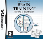 Dr Kawashima's Brain Training How Old Is Your Brain? DS