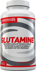Bodyraise Glutamine 898mg 90 κάψουλες