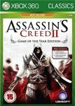 Assassin's Creed II: Game of the Year Edition (Classics) XBOX 360