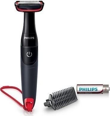 Philips BG105/10 Ξυριστική Μηχανή Σώματος με Απλές Μπαταρίε (BG105/10) - Πληρωμή και σε έως 36 Δόσεις!!!
