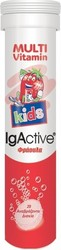 IgActive Multivitamin Kids Φράουλα 20tabs