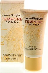 Laura Biagiotti Tempore Donna Deodorant Roll-On 50ml