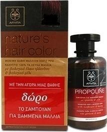 Προσθήκη στα αγαπημένα menu Apivita Nature s Hair Color N 6.3 Καρύδι    Apivita Propoline Σαμπουάν για Bαμμένα Mαλλιά με Ηλίανθο d556f73dcc9