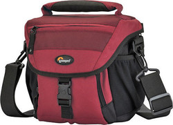 Lowepro Nova 140 AW (Bordeaux Red)